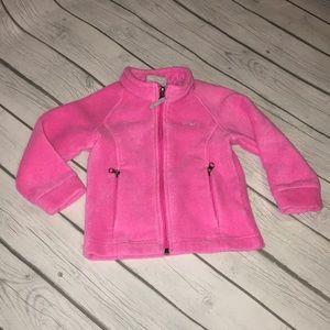 Columbia Pink fleece